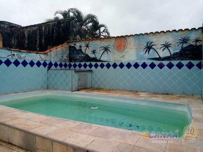 Casa Com 1 Dorm, Balneário Itaguai, Mongaguá - R$ 212 Mil, Cod: 7336 - V7336