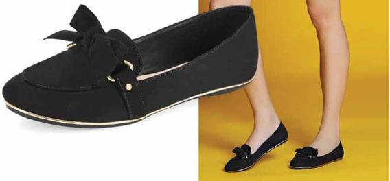 Zapatos Cerrados De Piso Modelo Cosmo Paris 8422