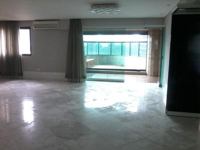 Apartamento Em Jardim Anália Franco, São Paulo/sp De 375m² 4 Quartos À Venda Por R$ 1.700.000,00para Locação R$ 6.000,00/mes - Ap165984lr