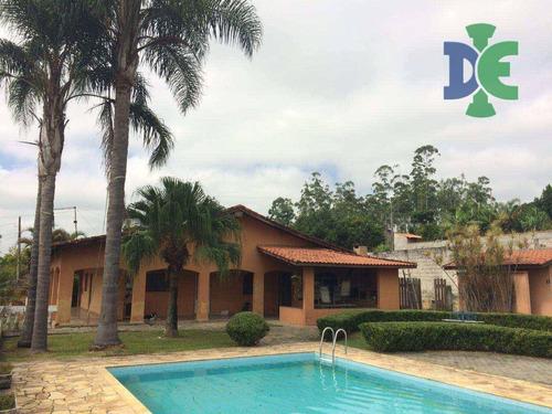 Imagem 1 de 24 de Chácara Com 4 Dormitórios À Venda, 1300 M² Por R$ 695.000,00 - Veraneio Irajá - Jacareí/sp - Ch0046