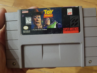 Toy Story Original Americano Supernintendo Snes