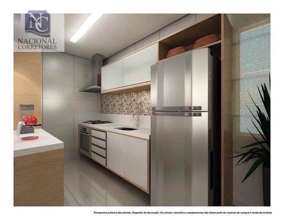 Apartamento Com 2 Dormitórios À Venda, 47 M² Por R$ 235.000 - Parque Novo Oratório - Santo André/sp - Ap6563