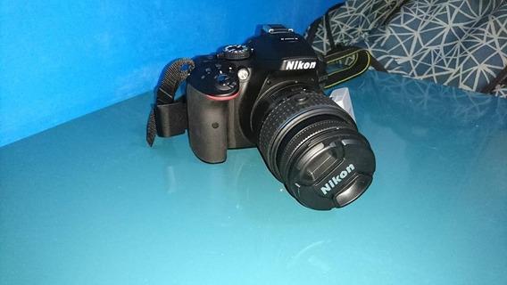 Camera Nikon D5300 + Bolsa + Flash + Filtro Polarizado