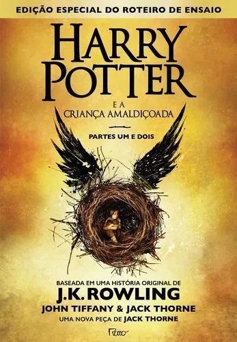 Livro Harry Potter E A Criança Amaldiçoada Livro - Capa Dura