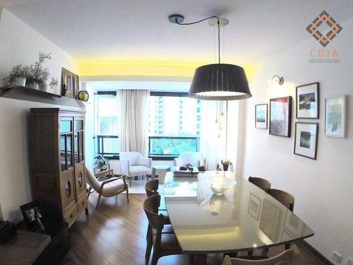 Imagem 1 de 23 de Apartamento Com 3 Dormitórios À Venda, 116 M² Por R$ 1.328.750,00 - Moema - São Paulo/sp - Ap54726