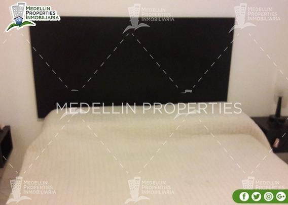 Alquiler Temporal De Apartamentos En Medellín Cód: 4793