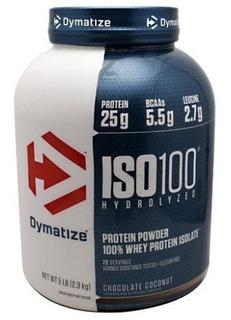 Iso 100 2,3kg Dymatize Amendoim + Brinde Coq