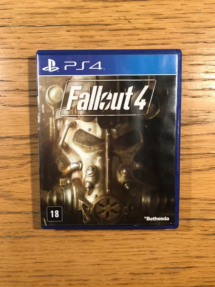 Jogo Ps4 - Fallout 4 (mídia Física) Envio Imediato