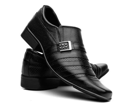 Sapato Masculino Social Em Couro Legitimo Fran Garcia Frete