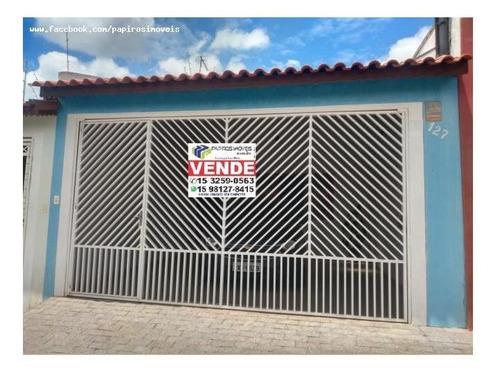 Casa Para Venda Em Tatuí, Jardim Fortunato Minghini, 3 Dormitórios, 1 Suíte, 2 Banheiros, 3 Vagas - 521_1-1365667