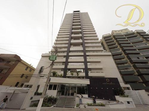 Imagem 1 de 30 de Apartamento De Alto Padrão De 3 Quartos, 3 Vagas À Venda Mobiliado No Canto Do Forte Com Vista Do Mar!!! - Ap4414
