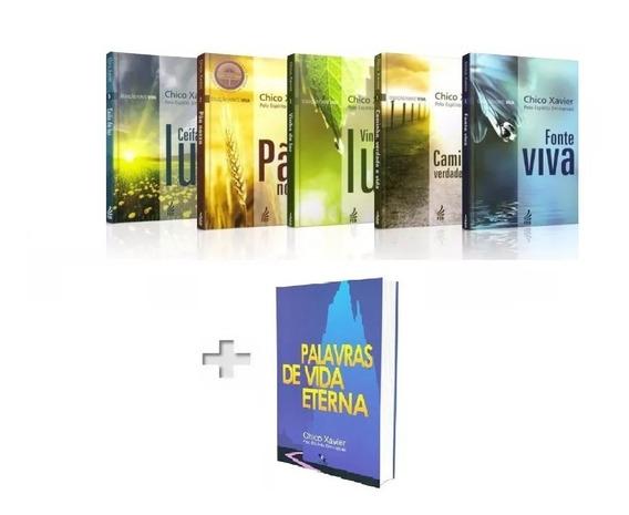 Coleção Fonte Viva + Palavras De Vida Eterna / Emmanuel
