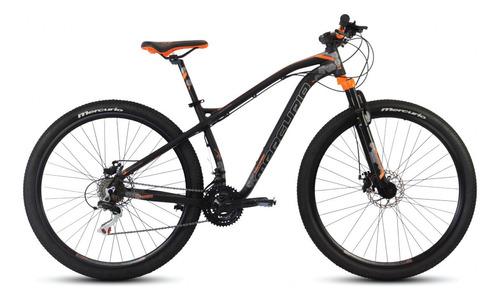 Imagen 1 de 2 de Mountain bike Mercurio MTB Recreación Ranger Pro  2020 R29 21v frenos de disco mecánico color negro/naranja