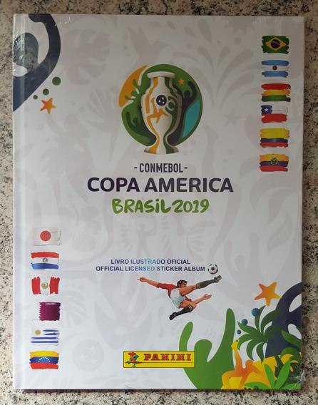 Álbum Capa Dura Figurinha Copa América 2019 Completo P/colar