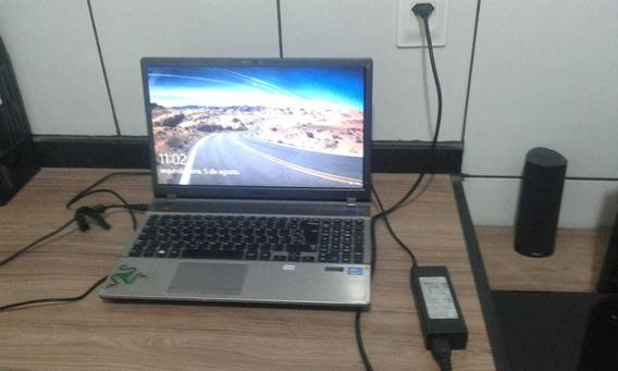 Notebook Samsung Np550p5c, Core I7, 8gb, Hd 1tb, Nvidia 2gb