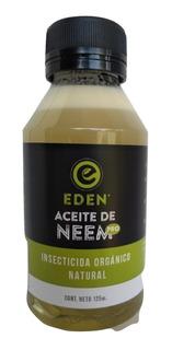 Eden Aceite De Neem 125cc Insecticida Organico Gabba Grow Olivos