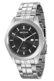 Relógio Seculus Masculino Long Life - 20407g0svna3