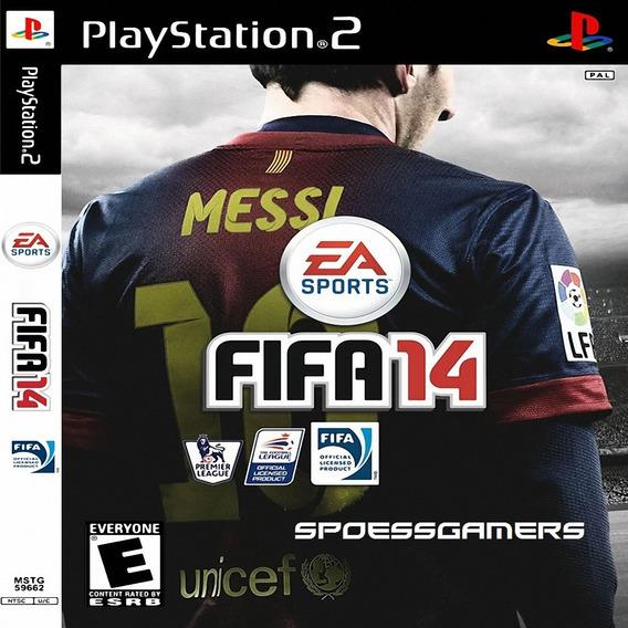 Fifa 2014 ( Futebol) Ps2 Desbloqueado Patch