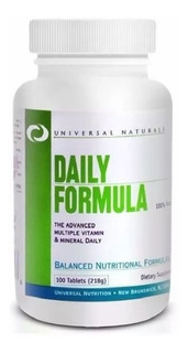 Daily Formula 100 Tabs - Universal Nutrition