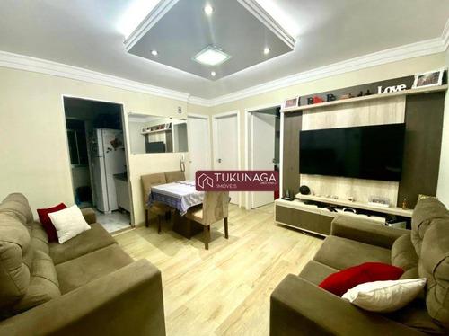 Apartamento À Venda, 48 M² Por R$ 215.000,00 - Jardim Valéria - Guarulhos/sp - Ap4978