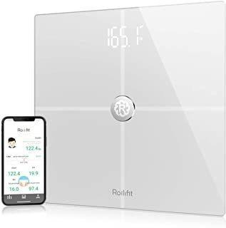 Rolli-fit Smart Body Fat Scale, Digital Bathroom Weight Scal
