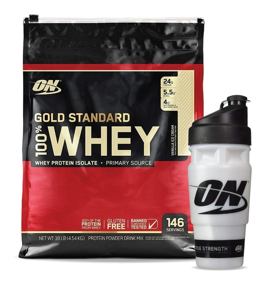 Ns Whey Gold Stand On 10lb Vanilla Ice - L a $85580