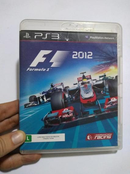Frete Grátis - Formula1 2012 - Ps3 Habilidade E Velocidade