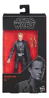 Star Wars The Black Series - Figura De Dryden Vos De 15 Cm