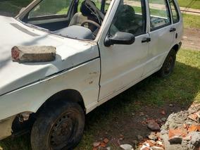 Chocado Fiat Uno Fire Aire/gnc 2009 $53.000