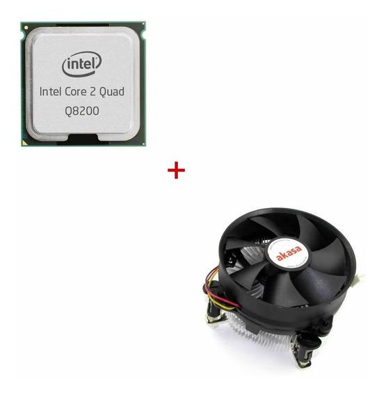 Processador Core 2 Quad Q8200 Com Cooler
