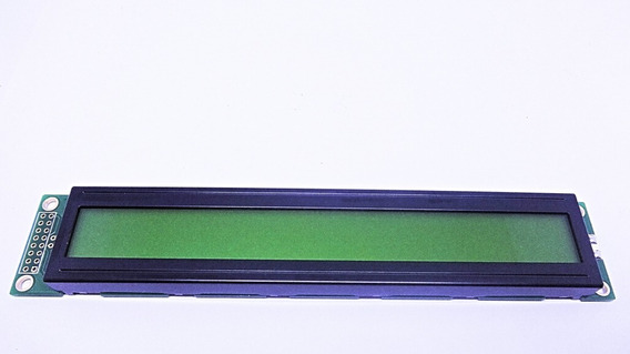Display Lcd 40x2 Verde C/back Big Number Fdcc4002b-flyybw-51