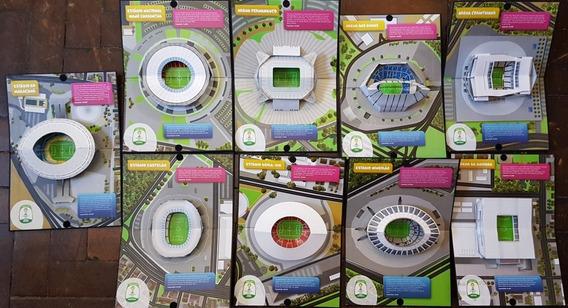 Maquetes Estadios Futebol Copa Do Mundo Fifa 2014 Brasil