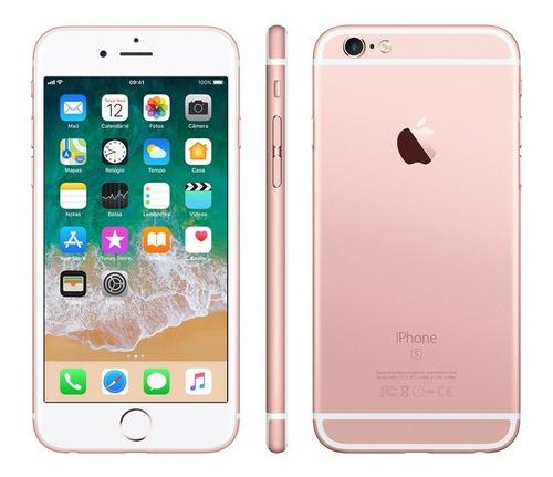 Usado - iPhone 6s 32gb Rose Gold! Capa E Película