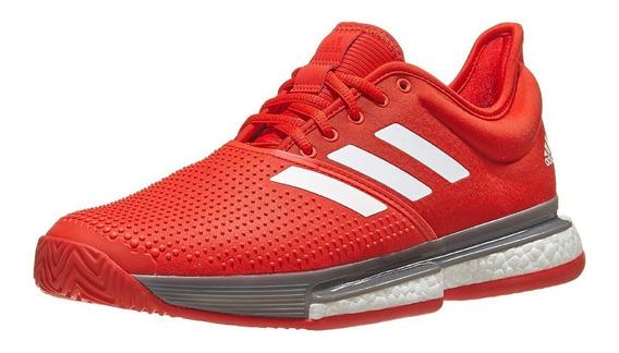 Tenis adidas Sole Court Boost Rojo Mod. Ef2070 Nuevo Original