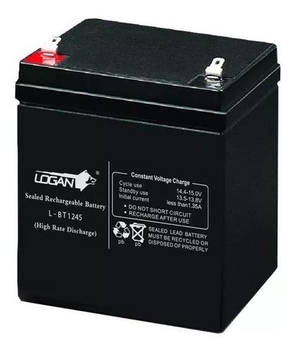 Imagen 1 de 3 de Batería Recargable 12v 4.5ah Pila Ups Lámpara Alarma Cercos