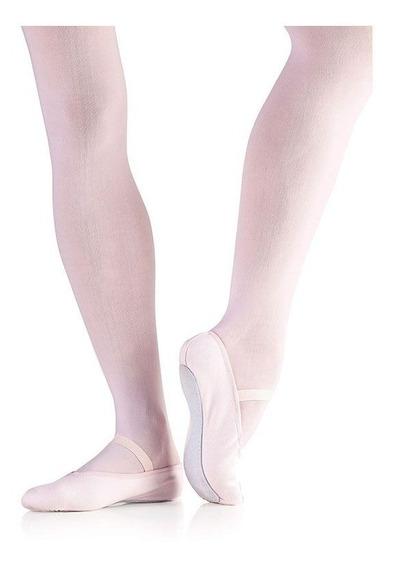 Sapatilha Só Dança Meia Ponta F22a Napa Infantil 22-32 Balet