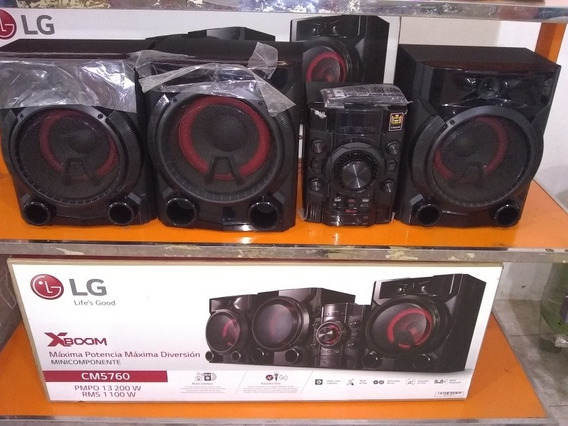 Equipo De Sonido Lg Modelo Cm5760