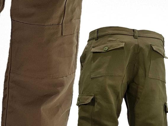 2 Pantalon Cargo Reforz Linco El Mejor Del Mercado T.50-56