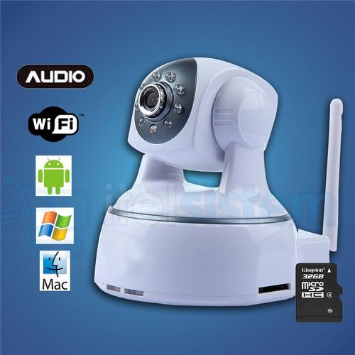 Camara Ip Inalambrica Hd Wifi Robotic Infrarroja Itelsistem