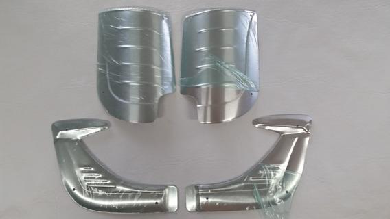 Reforco Paralama Dianteiro E Traseiro Aluminio Fusca