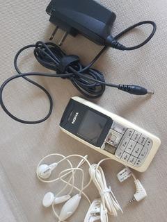 Celular Nokia 2310 - Funcionando - Acessórios - Desbloqueado