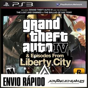 Gta 4 Grand Theft Auto 4 Iv + Dlcs - Jogos Ps3 Midia Digital