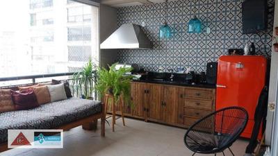 Apartamento Com 3 Dormitórios À Venda, 192 M² Por R$ 1.750.000 - Tatuapé - São Paulo/sp - Ap5598