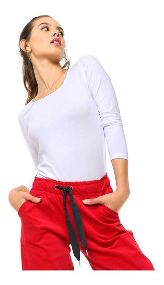 10 Remeras Lisas Mujer Manga Larga Cuello Redondo 100% Algodón 20 Colores Ver Tabla De Talles Y Medidas En Descripción!