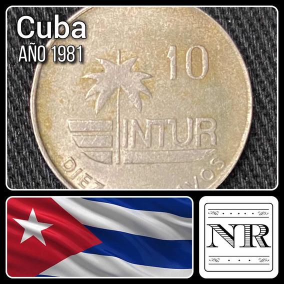 Cuba - 10 Centavos - Año 1981 - Km # 414 - Colibri - Intur