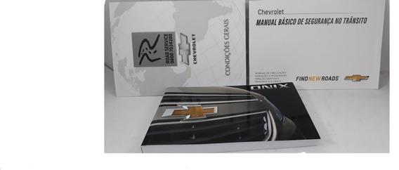 Manual Do Proprietário Onix 2013/16 Original E Em Branco