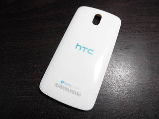 Tapa Trasera Htc Desire 500 Model 0p3z111 Blanco/azul