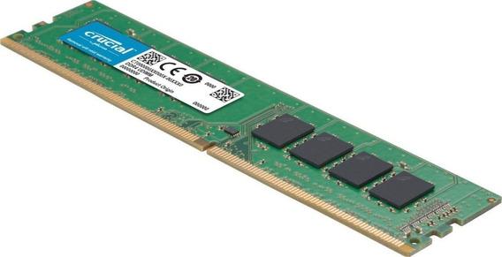 Memoria Ddr4 16gb 2666mhz Crucial Para Pc - Smarts