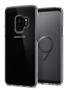 Capa Case Spigen | Samsung Galaxy S9 5.8 | Thin Fit Crystal Clear