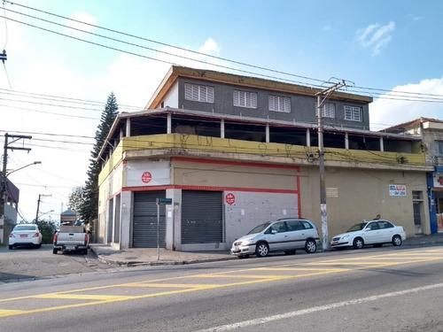 Imagem 1 de 12 de Salão Comercial Para Alugar Na Av. Cangaiba - Sl00022 - 34496568